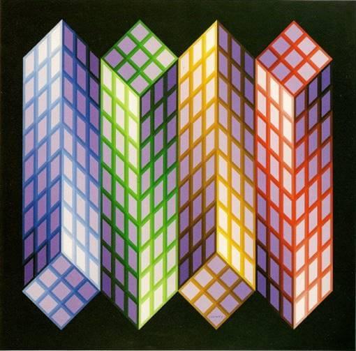 """Imagen2 Art Cinètic: """"Obres obertes. L'art en moviment 1955-75"""" La Pedrera"""