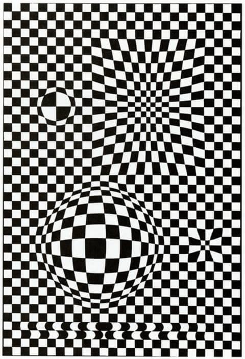 """Imagen3 Art Cinètic: """"Obres obertes. L'art en moviment 1955-75"""" La Pedrera"""