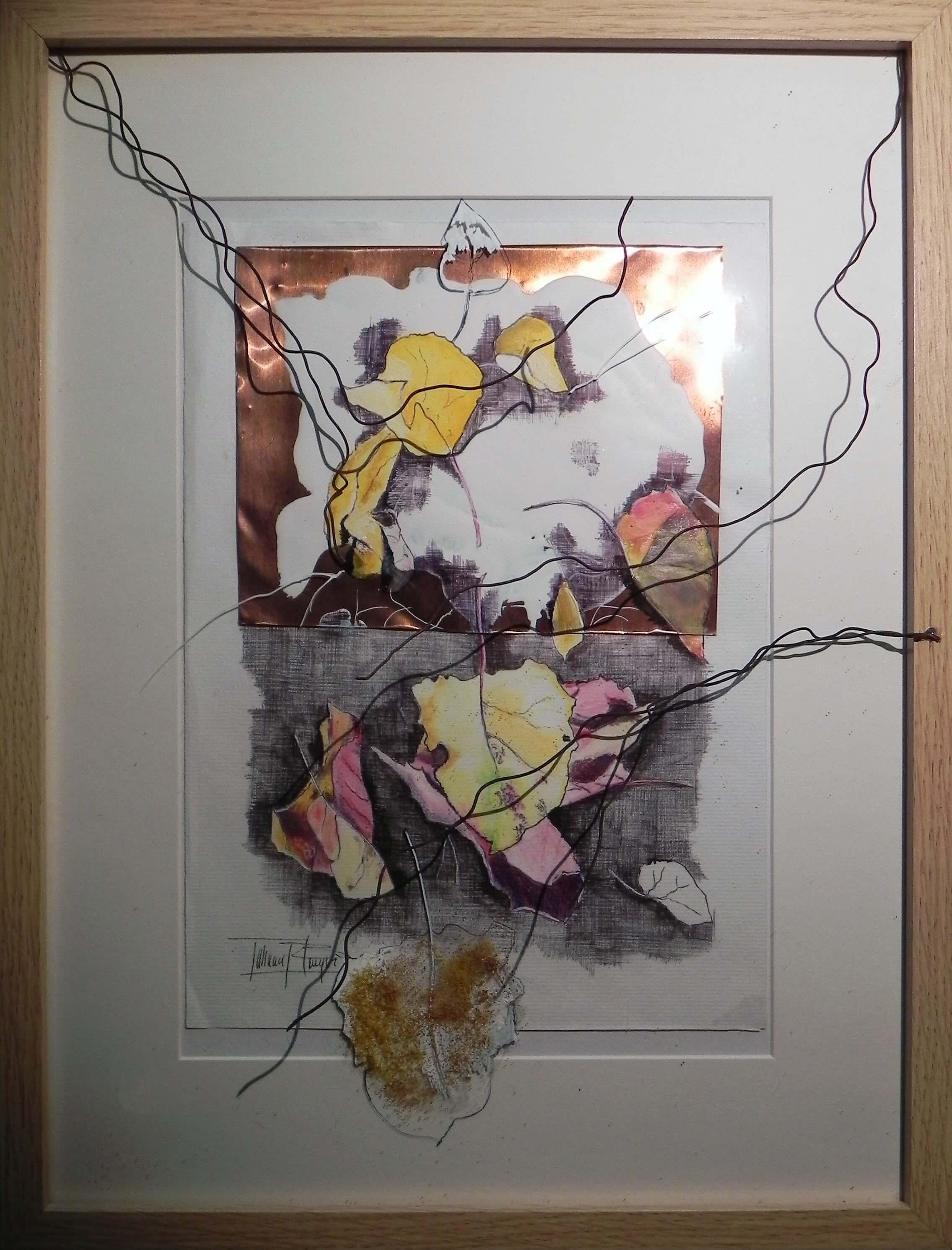 600€-Alló-que-amaguen-els-arbres-30X40cm-dibuix-d-paper-coure-i-vidre-VIII-DSCN7727 Tatiana Blanqué