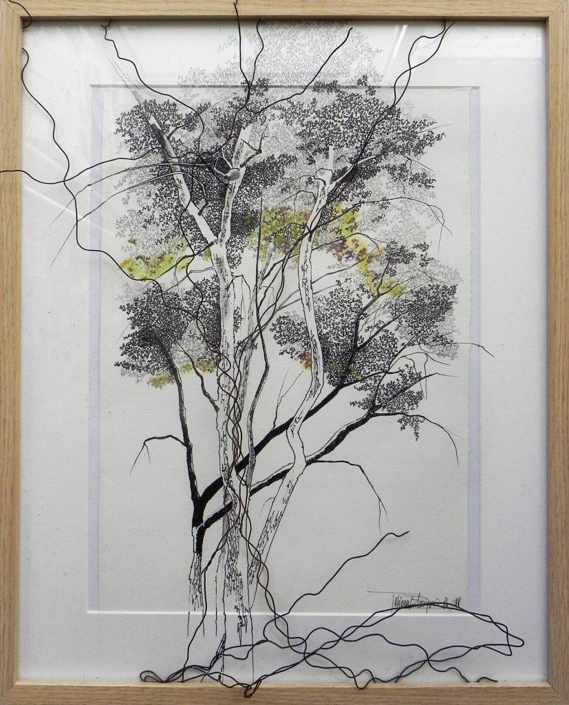 600€-Alló-que-amagues-els-arbres-bis-dibuix-i-filferro-d-paper-42x52cm-DSCN7731_preview-827x1024 Tatiana Blanqué - Epidermis pictòrica
