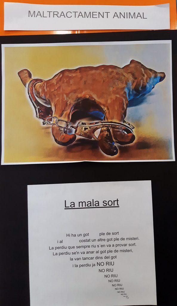 20190313_151937-593x1024 Joan Brossa (Any Brossa 2019). Col·laboració Escola Voramar