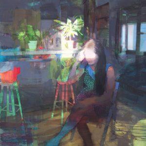 CEÑA-Red-Cat_130x130cm_oil-on-linen-BARNADAS-300x300 Un tastet d'ART pel mes de JUNY
