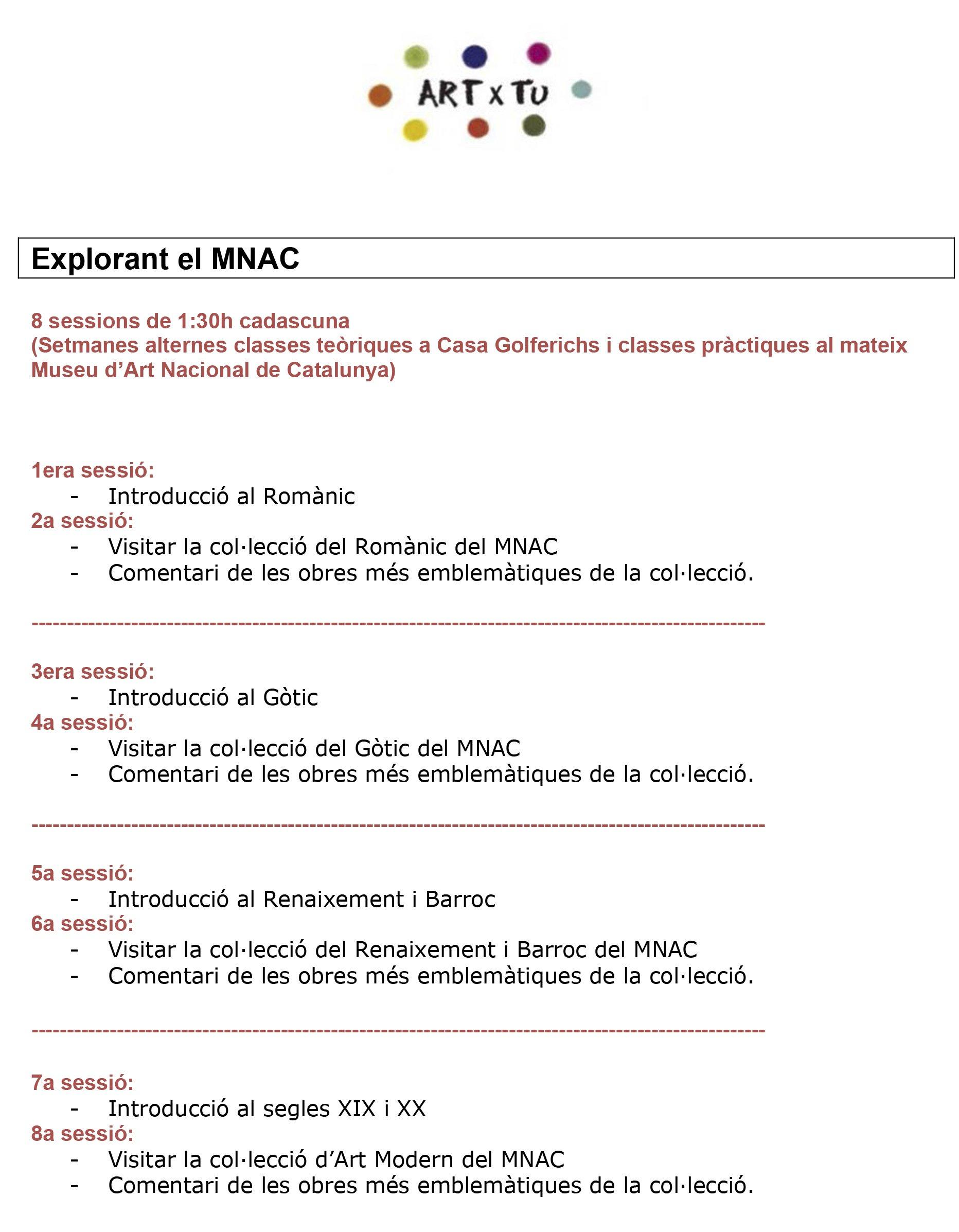 Explorant-el-MNAC-Programa Prueba calendario