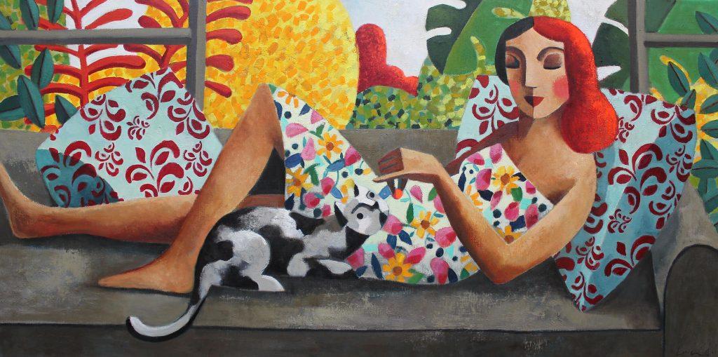 For-you-75-x-150-cm-1024x509 Didier Lourenço a la Galeria Jordi Barnadas