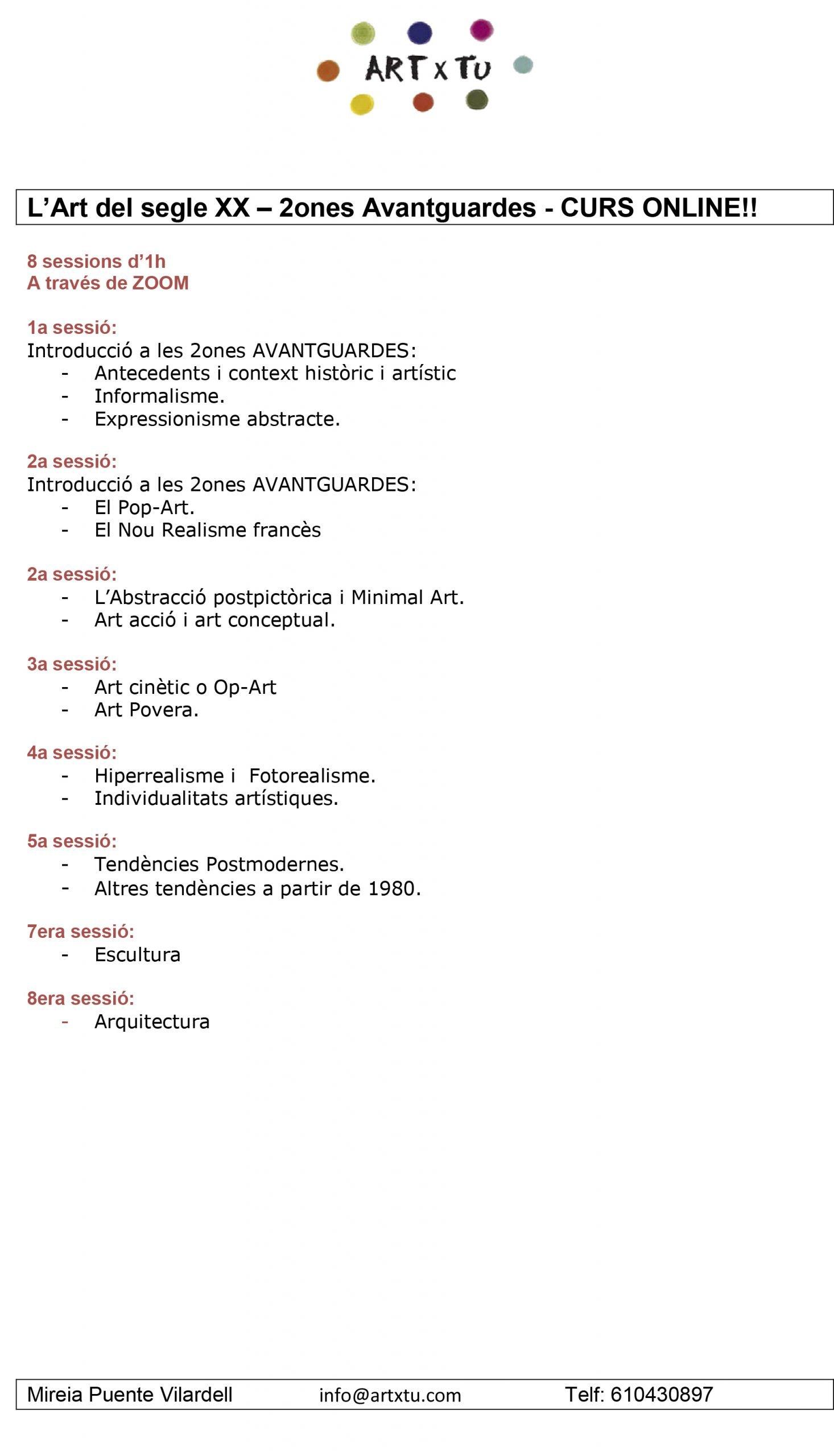 Programa-Art-del-segle-XX-2ones-Avantguardes-scaled Prueba calendario