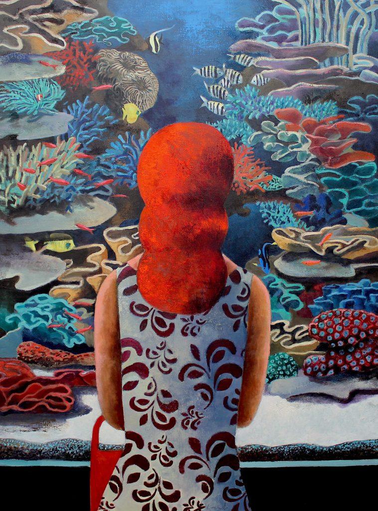 The-aquarium-130-x-97-cm-758x1024 Didier Lourenço a la Galeria Jordi Barnadas